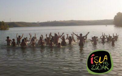El CEIP Cesar Hurtado de Valverde de Leganés celebró el fin de curso en la Isla del Zújar