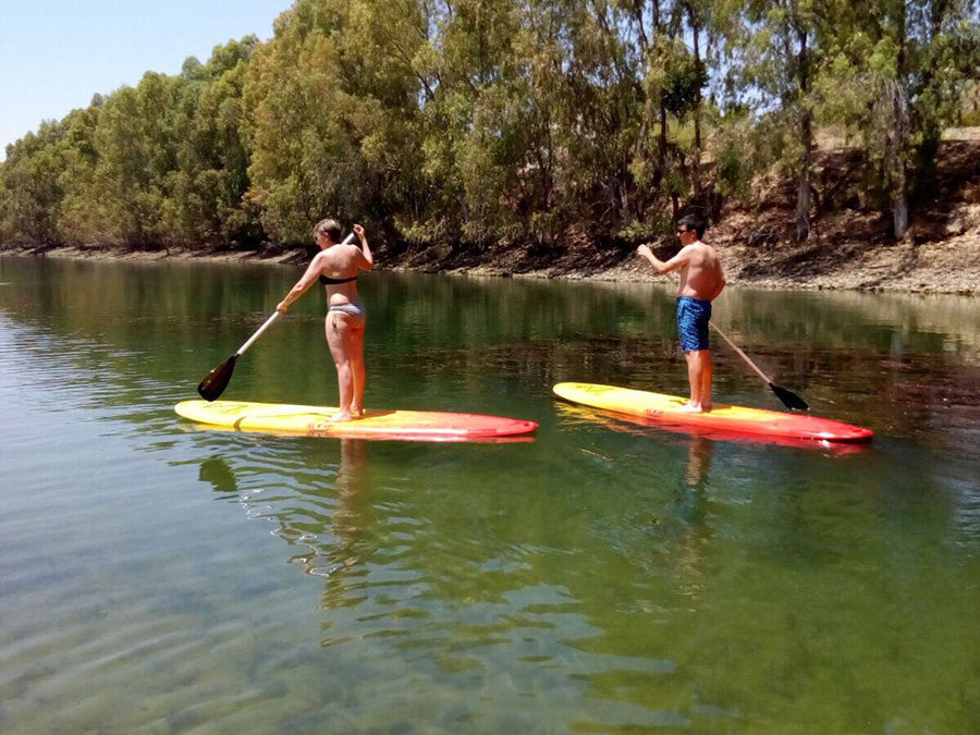 """Nueva actividad """"Paddle Surf"""" ven a conocerla a la Playa de la Isla del Zujar."""