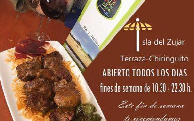 """Degusta las Carrilleras a la Barranquera en La Terraza – Bar """"Isla del Zujar"""""""