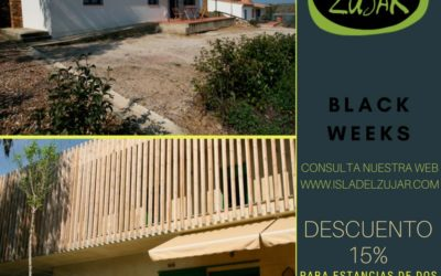 Oferta 15% descuento en alojamientos Modulos y Apartamentos en la Isla del Zujar