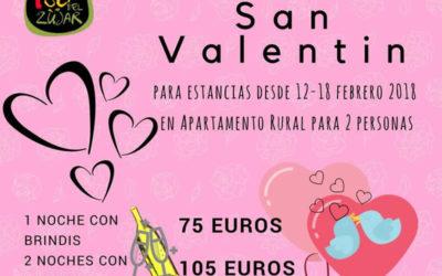 RÉGALATE para San Valentín un ESCAPADA en pareja en la lsladel Zujar