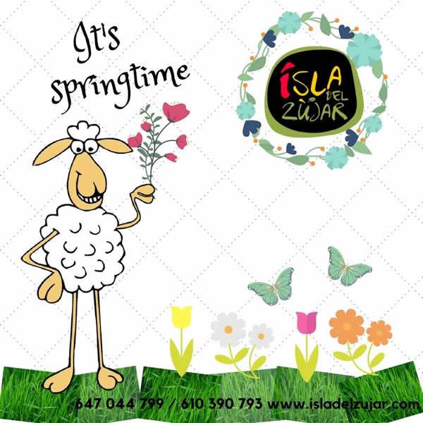 Ya es primavera en la Isla del Zujar