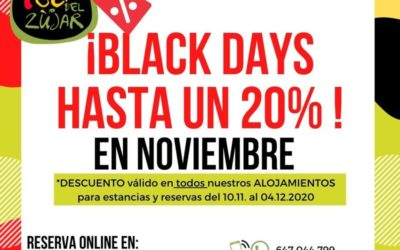BLACK DAY´S – 20% OFF